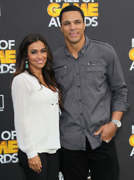 Tony Gonzalez and Wife: Nude For PETA! - The Hollywood Gossip
