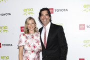 Amy Smart and Carter Oosterhouse attend the 2nd annual Environmental Media Association (EMA) honors benefit gala at Private Estate on September 28, 2019 in Pacific Palisades, California.