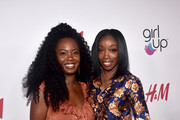 Jamie Woods (L) and Estelle attends the 2nd Annual Girl Up #GirlHero Awards at the Beverly Wilshire Four Seasons Hotel on October 13, 2019 in Beverly Hills, California.
