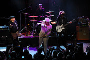 Robin Zander, Rick Nielsen, Tom Petersson and Daxx Nielsen of the music group Cheap Trick perform at the 2nd Annual National Concert Day Show  at Irving Plaza on May 3, 2016 in New York City.
