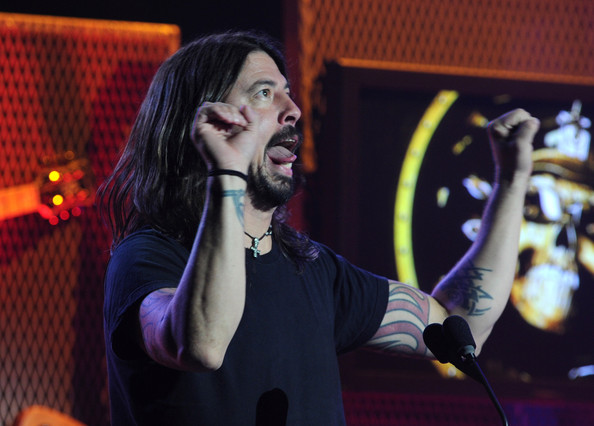 Dave+Grohl in 2nd Annual Revolver Golden Gods Awards - Show