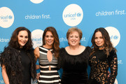 (L-R) Jan Miller Rich, Brooke Burke, UUSA President & CEO Caryl M. Stern and Moll Anderson at the 2nd Annual UNICEF Gala 2019 at The Ritz-Carlton, Dallas on February 01, 2019 in Dallas, Texas.