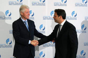 Bill Clinton Stephan Roh 2nd CGDC Annual Meeting 2012 - Day 3