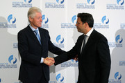 Bill Clinton and Stephan Roh Photos Photo