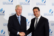 Former U.S. President Bill Clinton and Stephan Roh (R) attend the third day of the CGDC Annual Meeting on May 18, 2012 in Vienna, Austria. The Center for Global Dialogue and Cooperation (CGDC) is a politically independent, international Non-Governmental Organization which fosters dialogue between business and politics to create international standards in transparency.