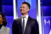 Josh Duhamel accepts the Outstanding Film - Wide Release award for 'Love, Simon,' onstage during the 30th Annual GLAAD Media Awards Los Angeles at The Beverly Hilton Hotel on March 28, 2019 in Beverly Hills, California.