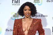Renee Elise Goldsberry attends the 30th Annual IFP Gotham Awards at Cipriani Wall Street on January 11, 2021 in New York City.