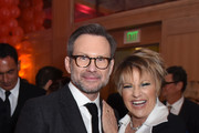 Christian Slater (L) and Lorna Luft attend the 30th Annual Palm Springs International Film Festival Film Awards Gala at Palm Springs Convention Center on January 3, 2019 in Palm Springs, California.