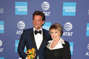 Bradley Cooper (L), recipient of the Director of the Year Award, and Lorna Luft attend the 30th Annual Palm Springs International Film Festival Film Awards Gala at Palm Springs Convention Center on January 3, 2019 in Palm Springs, California.