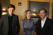 Actor Nick Robinson, producer Rachel Winter, and director William H Macy attend the 30th Annual Virginia Film Festival at the University of Virginia in Charlottesville on November 10, 2017 in Charlottesville, Virginia.