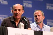 Producers Jon Kilik of 'Foxcatcher' and Jeremy Dawson of 'The Grand Budapest Hotel' speak at the Producers Panel at the Lobero, at the 30th Santa Barbara International Film Festival on January 31, 2015 in Santa Barbara, California.