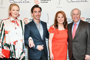 Cristina Ferrare, Fernando Garcia, Marlo Thomas and Henry Winkler attend 31st Annual Colleagues Luncheon at the Beverly Wilshire Four Seasons Hotel on April 09, 2019 in Beverly Hills, California.