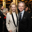 James Houghton and Laura Linney