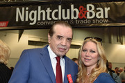 Actors Chazz Palminteri and Gianna Palminteri attend the 31st Annual Nightclub & Bar Convention And Trade Show on March 8, 2016 in Las Vegas, Nevada.