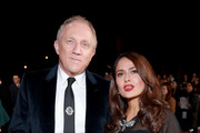 (L-R) François-Henri Pinault and Salma Hayek attend the 31st Annual Palm Springs International Film Festival Film Awards Gala at Palm Springs Convention Center on January 02, 2020 in Palm Springs, California.