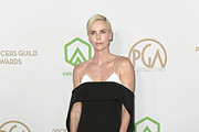 Charlize Theron attends the 31st Annual Producers Guild Awards at Hollywood Palladium on January 18, 2020 in Los Angeles, California.