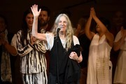 Patti Smith performs the finale on stage during the 33nd Annual Tibet House US Benefit Concert & Gala on February 26, 2020 in New York City.