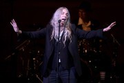 Patti Smith performs on stage during the 33nd Annual Tibet House US Benefit Concert & Gala on February 26, 2020 in New York City.