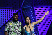 Khalid and Halsey present the ARIA Award Song of The Year during the 33rd Annual ARIA Awards 2019 at The Star on November 27, 2019 in Sydney, Australia.