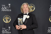 Jeff Bridges attends the 33rd Annual American Society Of Cinematographers Awards For Outstanding Achievement In Cinematography at The Ray Dolby Ballroom at Hollywood & Highland Center on February 9, 2019 in Hollywood, California.