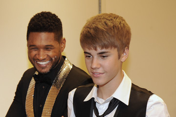 Usher Justin Bieber 33rd Annual Georgia Music Hall Of Fame Awards - Backstage And Audience