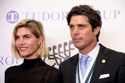 "Delfina Blaquier and Honoree Ignacio ""Nacho"" Figueras  attend the 33rd Annual Great Sports Legends Dinner, which raised millions of dollars for the Buoniconti Fund to Cure Paralysis at The New York HiltHonoree Ignacio ?Nacho? Figueras      on Midtown on September 24, 2018 in New York City."