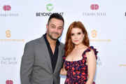 Nick Swisher (L) and Joanna Garcia attend the 34th Annual Cedars-Sinai Sports Spectacular at The Compound on July 15, 2019 in Inglewood, California.