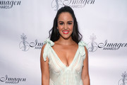 Actress Melissa Fumero attends the 34th Annual Imagen Awards at the Beverly Wilshire Four Seasons Hotel on August 10, 2019 in Beverly Hills, California.
