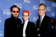 SBIFF Director Roger Durling, Christopher Peterson and Sandy Powell attend the Variety Artisan's Awards during the 35th Santa Barbara International Film Festival at the Lobero Theatre on January 19, 2020 in Santa Barbara, California.