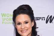 Football player Jennifer Welter attends the 36th Annual Salute to Women In Sports at Cipriani Wall Street on October 20, 2015 in New York City.