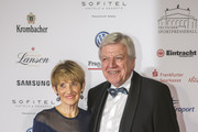 The Prime Minister of Hesse Volker Bouffier and his wife Ursula attend the German Sports Media Ball (37th Sportpresseball) at Alte Oper on November 4, 2017 in Frankfurt am Main, Germany.
