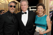 AFI Vice-Chairman Producer Jon Avnet, actor Warren Beatty (L) and actress Annette Bening arrive at the 38th AFI Life Achievement Award honoring Mike Nichols held at Sony Pictures Studios on June 10, 2010 in Culver City, California. The AFI Life Achievement Award tribute to Mike Nichols will premiere on TV Land on Saturday, June 25 at 9PM ET/PST.