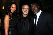 (L-R) Designer Kimora Lee, director Jon Avnet and actor Djimon Hounsou in the audience at the 39th AFI Life Achievement Award honoring Morgan Freeman held at Sony Pictures Studios on June 9, 2011 in Culver City, California. The AFI Life Achievement Award tribute to Morgan Freeman will premiere on TV Land on Saturday, June 19 at 9PM ET/PST.