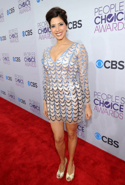 Actress Viviana Vigil attends the 34th Annual People's Choice Awards at Nokia Theatre L.A. Live on January 9, 2013 in Los Angeles, California.