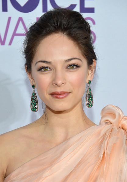 Actress Kristin Kreuk attends the 39th Annual People's Choice Awards at Nokia Theatre L.A. Live on January 9, 2013 in Los Angeles, California.