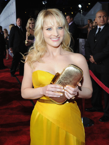 Actress Melissa Rauch attends the 34th Annual People's Choice Awards at Nokia Theatre L.A. Live on January 9, 2013 in Los Angeles, California.