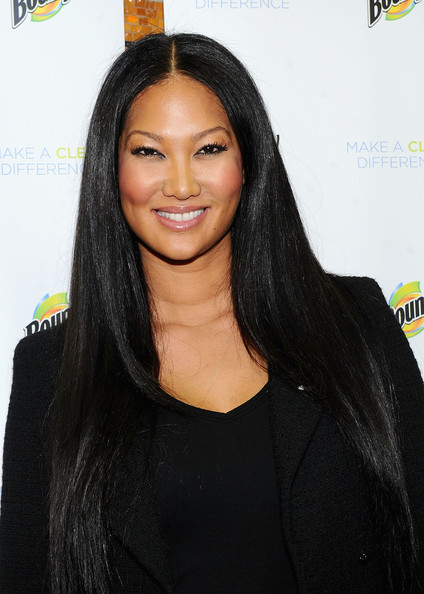 Kimora Lee Simmons attends the 3rd Annual Make a Clean Difference program at Alain L. Locke Elementary - P.S. 208 on February 18, 2011 in New York City.