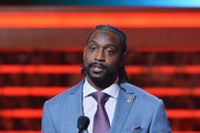 Chicago Bears cornerback Charles Tillman wins the Walter Payton NFL Man of the Year at the 3rd Annual NFL Honors at Radio City Music Hall on February 1, 2014 in New York City.