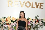 Jeannie Mai attends the 3rd Annual #REVOLVEawards at Goya Studios on November 15, 2019 in Hollywood, California.