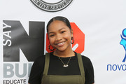 Laya Deleon Hayes attends the 3rd Annual Say NO Bullying Festival at Griffith Park on October 14, 2018 in Los Angeles, California.