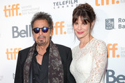 Actor Al Pacino and  Lucila Sola attend the 3rd Annual TIFF Gala during the 2014 Toronto International Film Festival at TIFF Bell Lightbox on September 3, 2014 in Toronto, Canada.