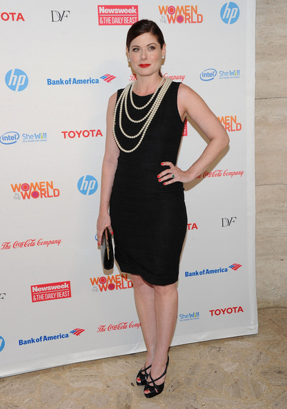 Actress Debra Messing attends the 3rd Annual Women in the World Summit