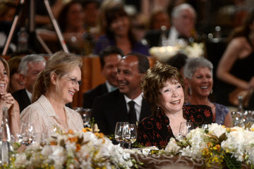 Merryl Streep 40th AFI Life Achievement Award Honoring Shirley MacLaine - Backstage And Audience