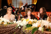 (L-R) Actress Meryl Streep, honoree Shirley MacLaine, and actress Julie Roberts attend the 40th AFI Life Achievement Award honoring Shirley MacLaine held at Sony Pictures Studios on June 7, 2012 in Culver City, California. The AFI Life Achievement Award tribute to Shirley MacLaine will premiere on TV Land on Saturday, June 24 at 9PM ET/PST.