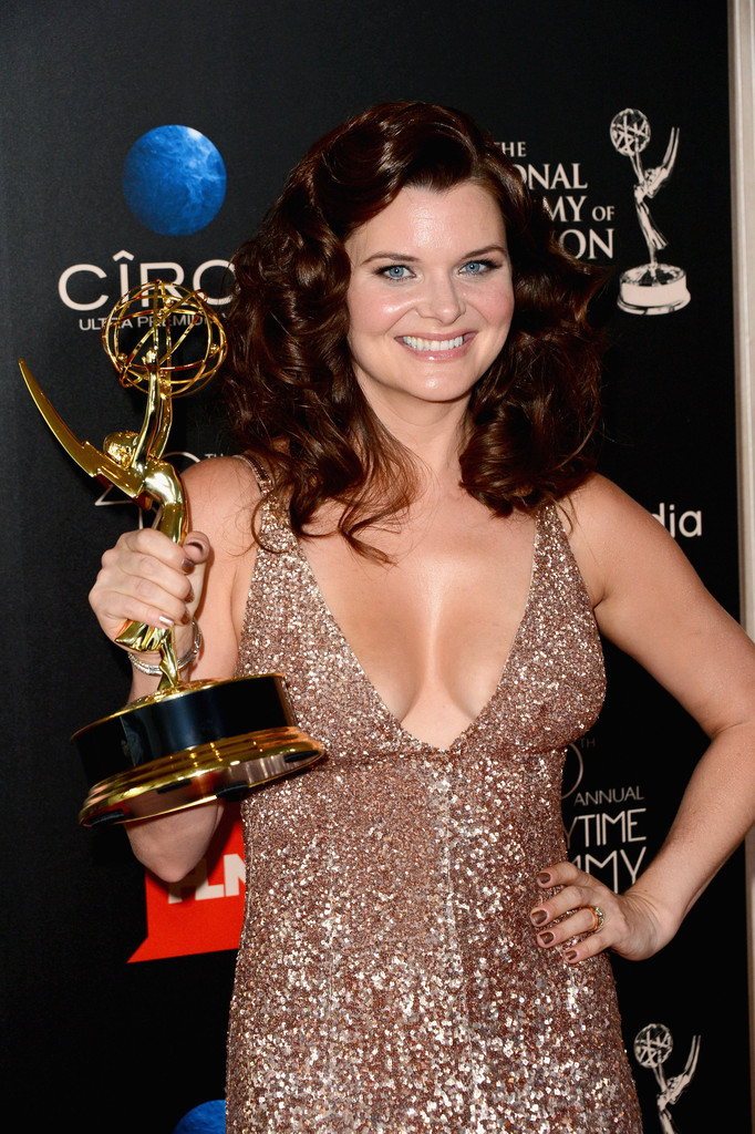 heather tom photos press room at the 40th annual daytime