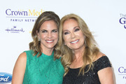 TV personalities Natalie Morales (L) and Kathie Lee Gifford  attend the 41st Annual Gracies Awards Gala in Beverly Hills, California, on May 24, 2016. / AFP / VALERIE MACON