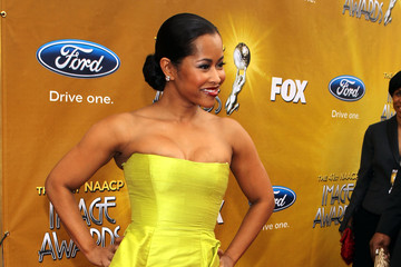 Lisa Wu Hartwell 41st NAACP Image Awards - Red Carpet