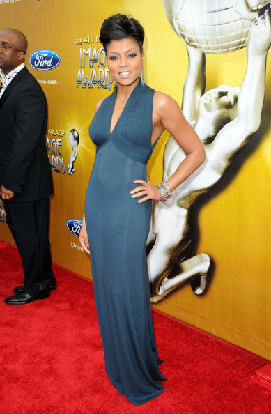Actress Taraji P. Henson arrives at the 41st NAACP Image awards held at The Shrine Auditorium on February 26, 2010 in Los Angeles, California.