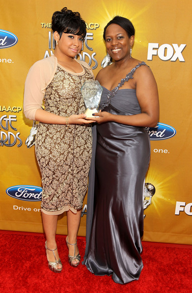 Actress Raven-Symone and Senior Marketing Manager at Pepsi Co. Lauren M. Scott arrive at the 41st NAACP Image awards held at The Shrine Auditorium on February 26, 2010 in Los Angeles, California.