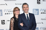 Katherine Borowitz and John Turturro attend the 42nd Chaplin Award Gala at Alice Tully Hall, Lincoln Center on April 27, 2015 in New York City.